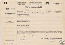 Einkaufsnachweis für den Ausgleich von Fliegerschäden, 1943