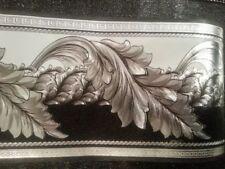 wunderschöne Barock schwarz, weiss ,VERSAC 5m lang 17,7 cm breit