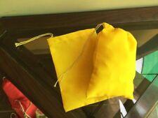 "5""x7"" Cotton Single Drawstring Muslin Bags (Yellow Color)"