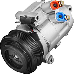 AC A/C Compressor for Ford Taurus Lincoln MKS MKT Mercury Sable 3.5L 3.7L 08-12
