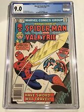 Marvel Team Up 116 cgc 9.0 Amazing Spiderman and Valkyrie Thor cover NM WHITE