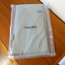 NEW Calvin Klein Twin Size Bed Skirt - Olive Gray