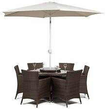 Patio Up to 6 More than 8 Pieces Table & Chair Sets
