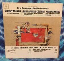 Murray Adaskin/Jean Papineau-Couture/Harry Somers WLP Judy Loman/Mario Bernardi