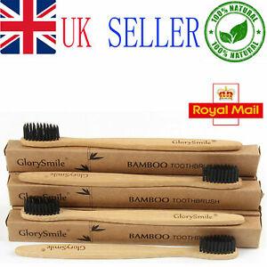 8 Pcs Eco Friendly Bamboo ToothBrush Natural Biodegradable Wood Bristles