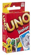 Mattel UNO Junior Kartenspiel 2-4 Spieler ab 3 Jahren NEU+Verpackung beschädigt