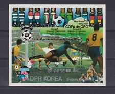 s5634) KOREA 1981 MNH** WC Football'82 - CM Calcio S/S Gold Cup Uruguay