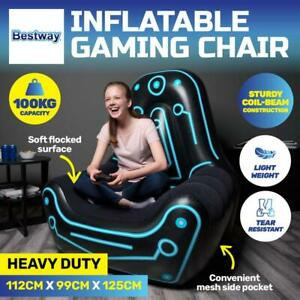 Bestway Inflatable Gaming Sofa Air Chair Seat Seat Indoor / Outdoor