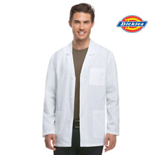81404 White Lab Coat Mens Dickies Doctor Consultation Jacket Medical Student