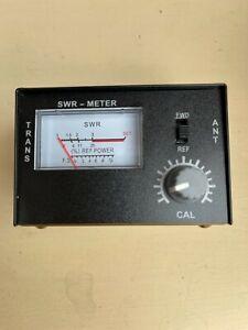 CB RADIO SWR METER. Rated 1-100W 26-30 Mhz 50 OHMS.BRAND NEW