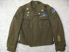 WWII US ARMY 3RD INFANTRY DIVISION 7TH REGIMENT IKE JACKET
