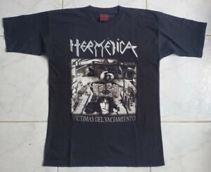HERMETICA Victimas. shirt  L V8 acido argentino luchando por el metal. Malon alm