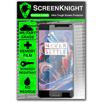 ScreenKnight Oneplus 3 / iii - Front SCREEN PROTECTOR invisible military shield