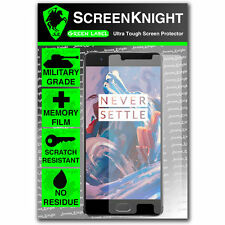 ScreenKnight Oneplus 3/Frontal Pantalla Protector Invisible III Escudo Militar