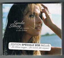 LYNDA LEMAY - DES SECRETS & DES LETTRES - 2 CD SET - 2004 - NEUF NEW NEU