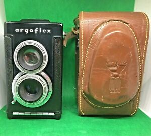 Vintage ARGUS Argoflex TLR Camera 75MM with Case