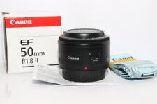 CANON EF 50mm f:1,8 II Obiettivo Standard Autofocus per Reflex EOS D DIGITALE