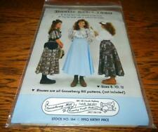 GOOSEBERRY HILL COUNTRY CRAFT SEWING PATTERN BUSTLE SKIRT 1880