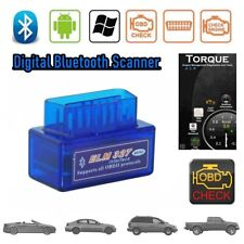 Car Bluetooth OBDII Code Scanner Reader Automotive Diagnostic Tool OBD2 ELM 327
