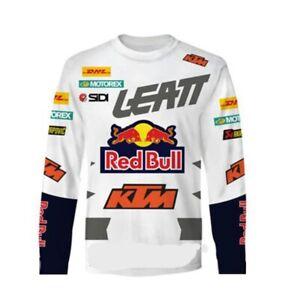 Men Cycling Jersey MTB Riding Top Long Sleeve Motorcycle Shirt /MX/ATV/BMX Dirt