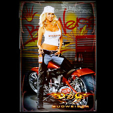 2005 Budweiser Sturgis Biker Babe 19x27 Poster Sold by the Creator