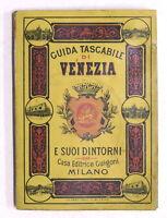 Guida Tascabile di Venezia e suoi dintorni - ed. 1900 Guigoni