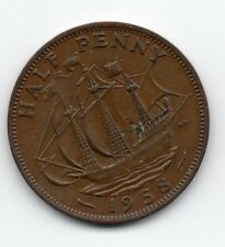 Great Britain - Engeland - 1/2 Penny 1958