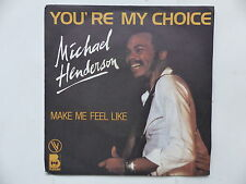 MICHAEL HENDERSON You're my choice BUDDAH 101389