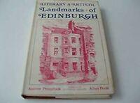 Literary Y Artístico Lugares De Edimburgo; Por Pennycook, Andrew