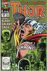 The Mighty THOR #419 MARVEL Comics Avengers The Watcher High Evolutionary 1990