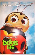 "A Bug's Life (1998) original one-sheet movie poster (27""x40"") D/S ""who you ..."""