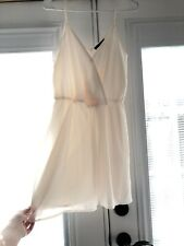 NWT FOREVER 21 Short Le Cream Dress Womens Size M