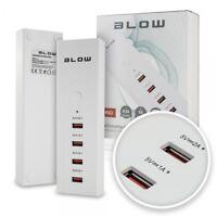 USB Hub 4 Port Fach Adapter Ladegerät 5A Netzteil Verteiler Switch Netzadapter