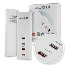 HUB USB 4 Port Scomparto Adattatore Caricatore 5a alimentatore di distribuzione switch Adattatore CA