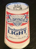 Collectible Vintage Budweiser Light Can Beer Colorful Metal Pinback Lapel Pin