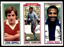 TOPPS-1981-FOOTBALLERS #077-MANCHESTER UNITED-STEVE COPPELL
