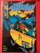 DC comics BATMAN WITH ROBIN #465 LATE JULY 91
