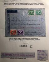 1942 Haarlem Netherlands Censored Cover To Dutch Merchant Marine In Venezuela