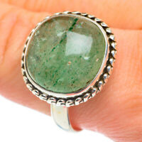 Green Aventurine 925 Sterling Silver Ring Size 12.25 Ana Co Jewelry R61995F