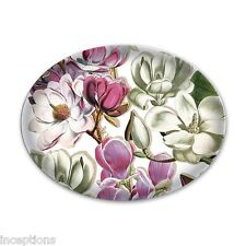 Michel Design Works Glass Trinket / Soap Dish Magnolia - NEW