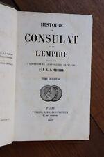 Histoire du Consulat et de l'Empire Napoléon I par Thiers 1857 Tome 15 1812-1813
