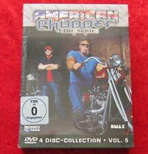 American Chopper Die Serie Volume 5, 4 Disc-Collection DVD Box Staffel, Neu