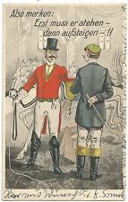 Erotismo, instrucciones para sexo, viejos para postal 1910, circo, pfefd, Riding