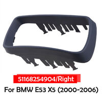 Right Driver Side Door Wing Mirror Cover Cap Trim for BMW E53 X5 2000-2006 UK