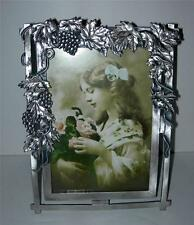 """BEAUTIFUL  PEWTER """"VICTORIAN STYLE"""" PICTURE FRAME"""