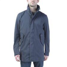 Woolrich John Rich & Bros. Men's Teton Blake Long Eskimo Jacket Blue Mens Large