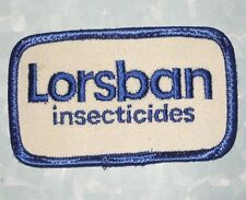 Lorsban Insecticides Patch - vintage