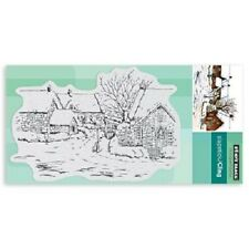 PENNY BLACK RUBBER STAMPS SLAPSTICK CLING TRANQUIL HAMLET  NEW cling STAMP