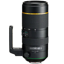 PENTAX HD D FA 70-200mm F2.8 Ed DC AW Lens