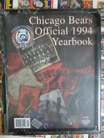 Chicago Bears Official 1994 Yearbook with Frame 75th Anniversary